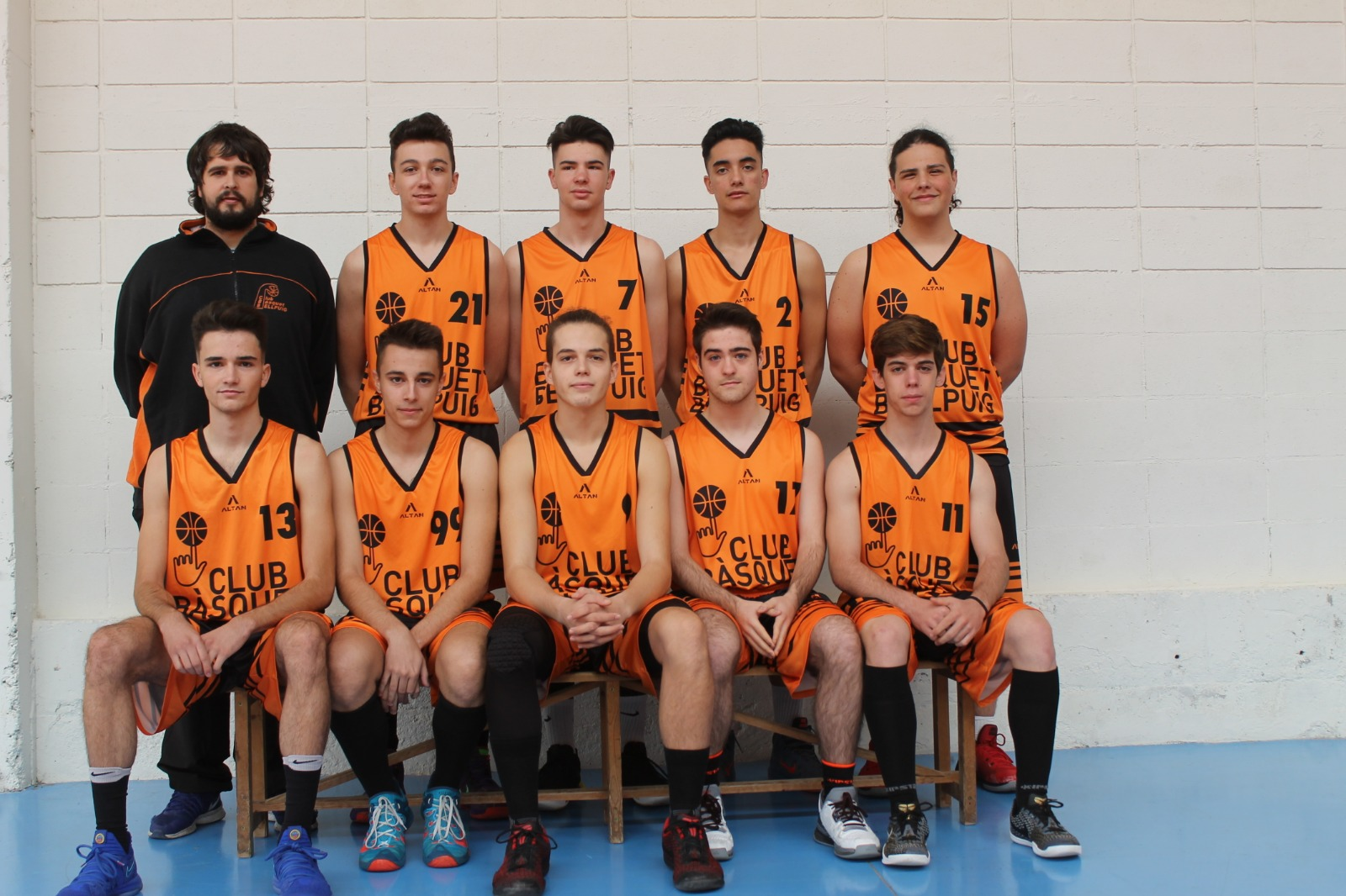 Júnior Masculí Copisteria Papers CB Bellpuig Temp.2018-2019 Club Bàsquet Bellpuig