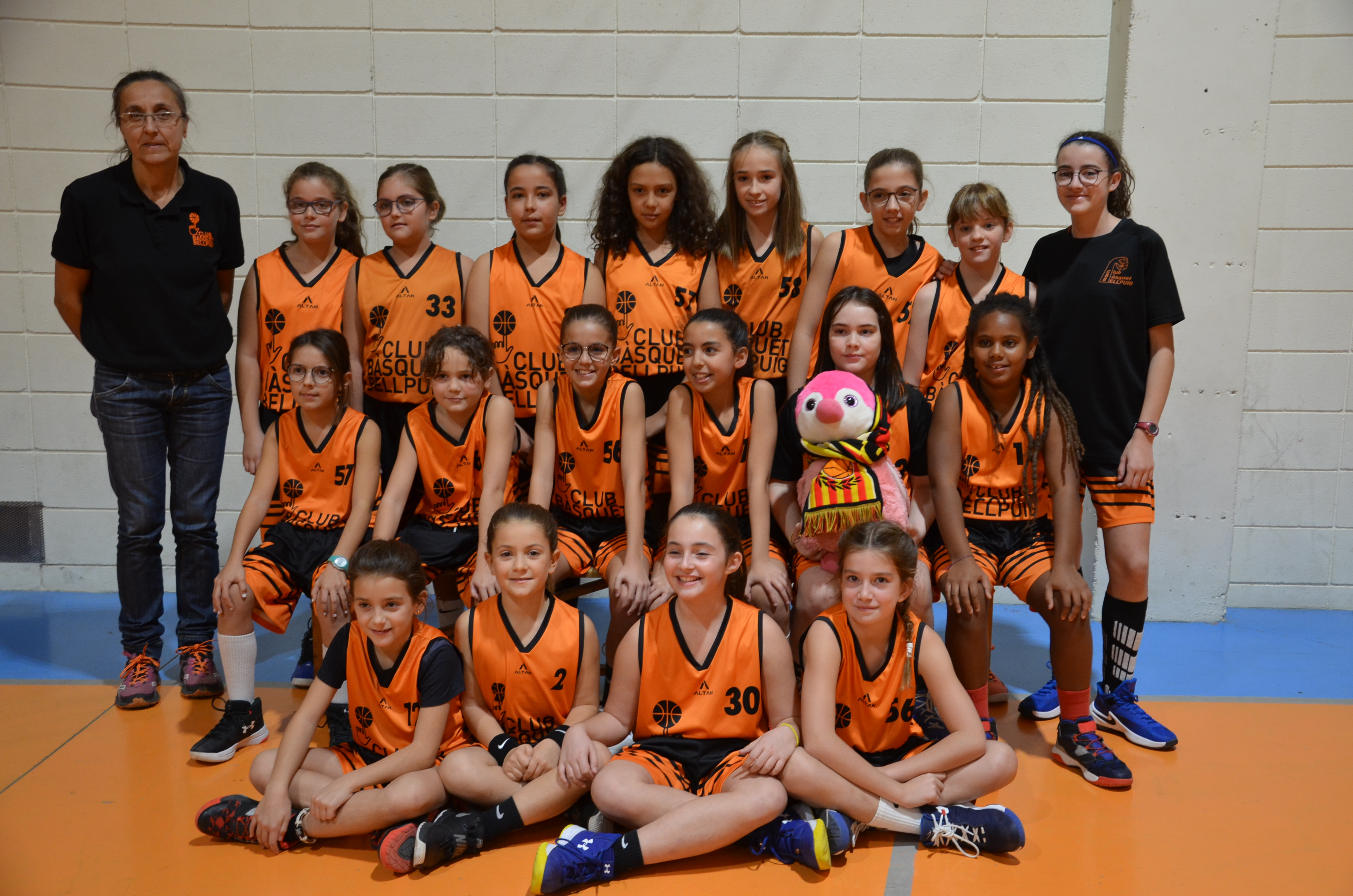 Mini Femení Isprox Consulting Temp.2019-2020 Club Bàsquet Bellpuig