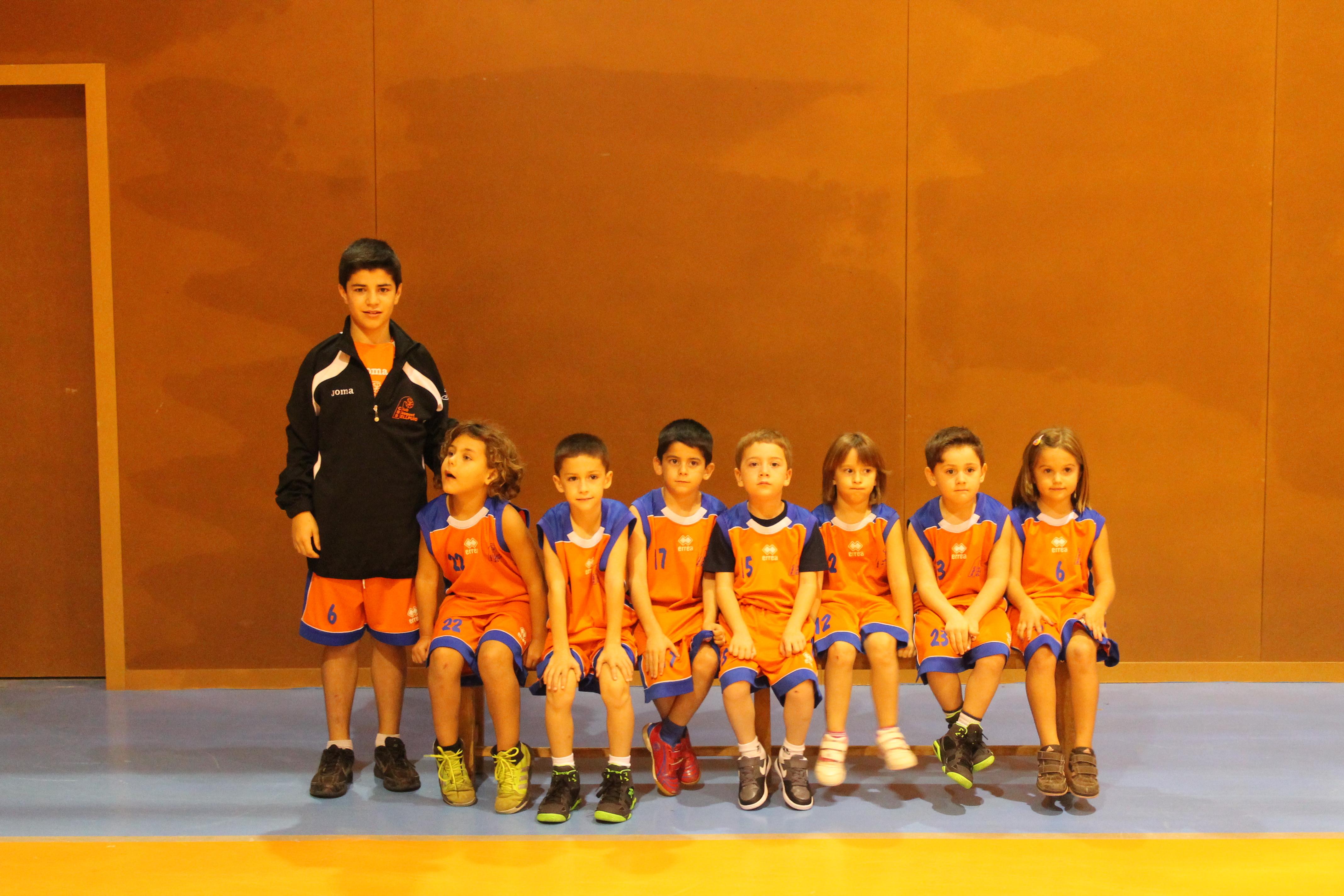 Escola 08 Temp.2014-2015 Club Bàsquet Bellpuig