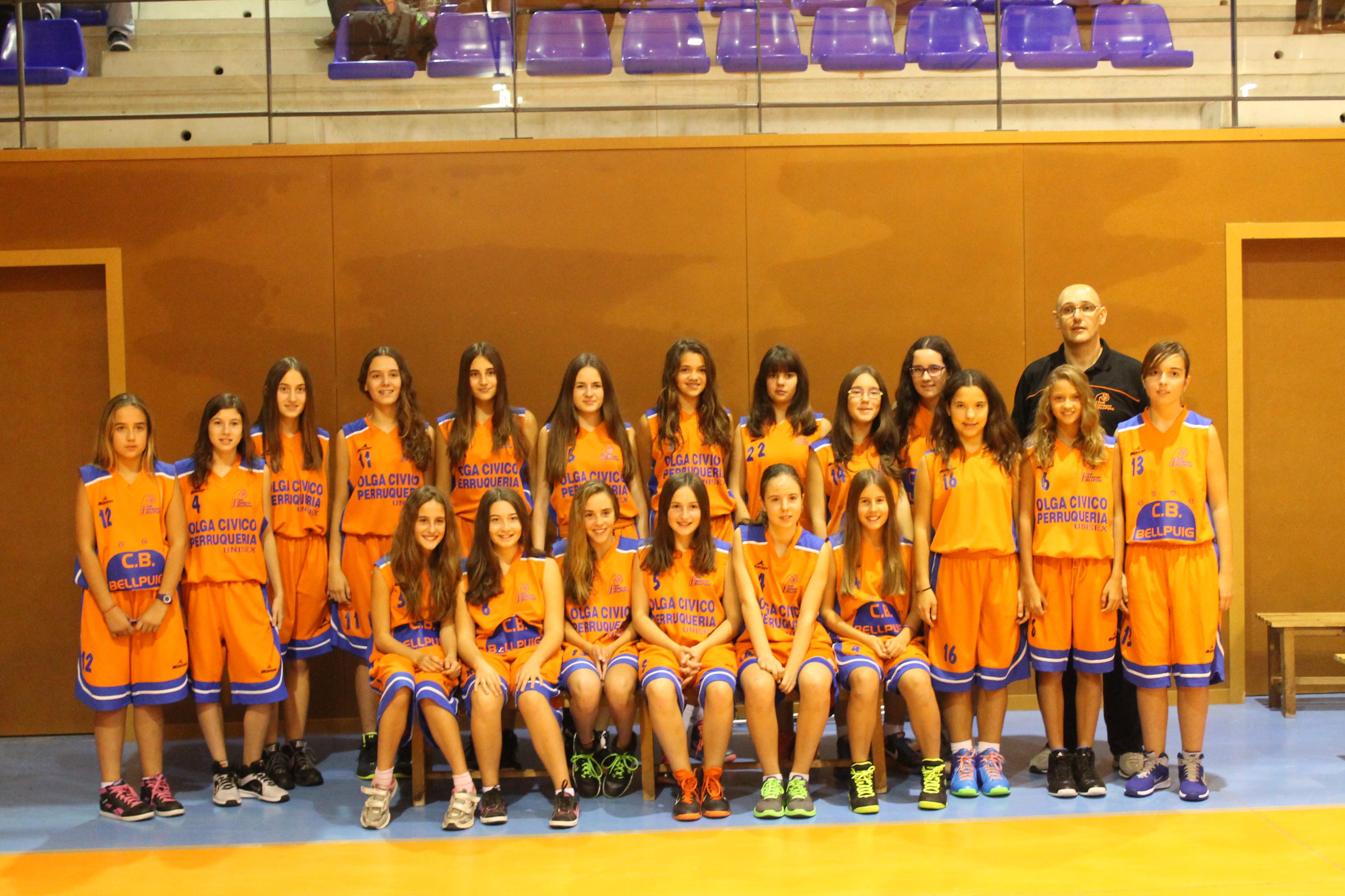 Infantil Femení Temp.2014-2015 Club Bàsquet Bellpuig