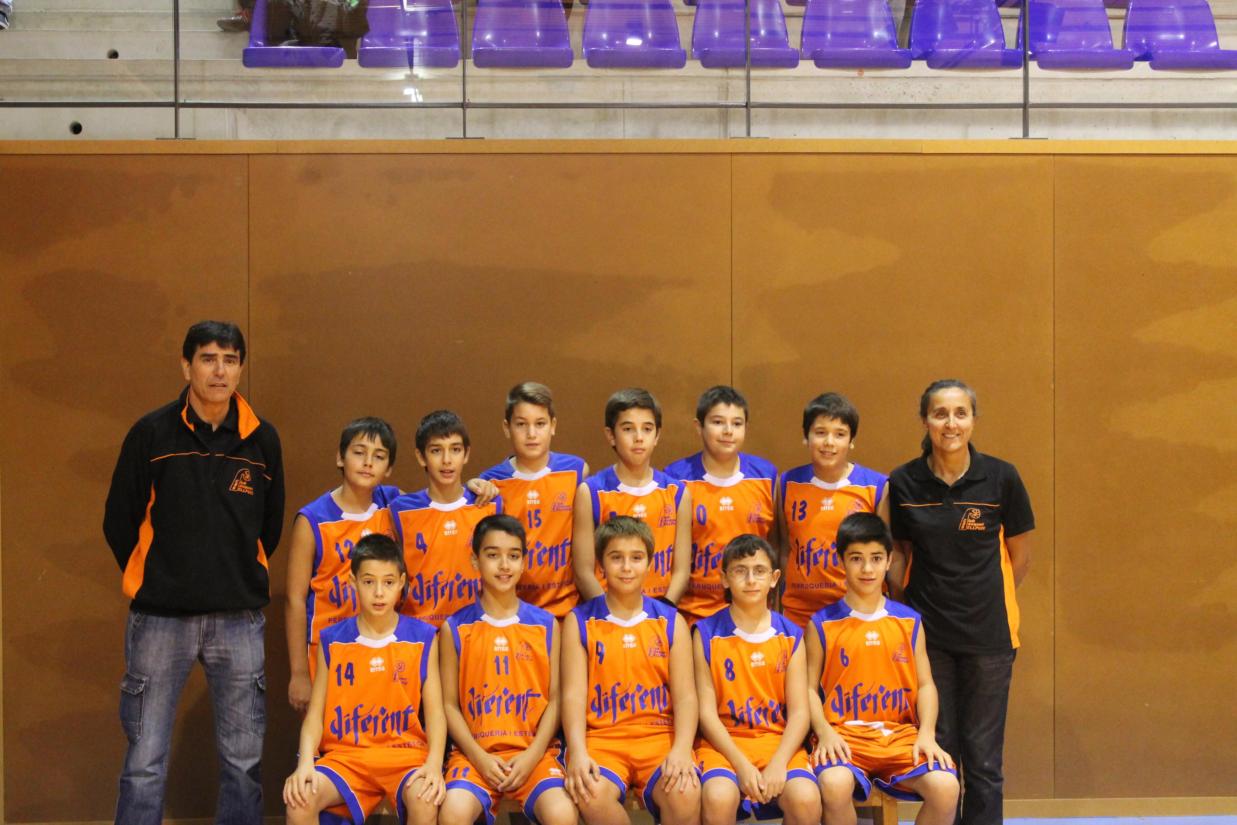 Pre-Infantil Masculí Temp.2014-2015 Club Bàsquet Bellpuig