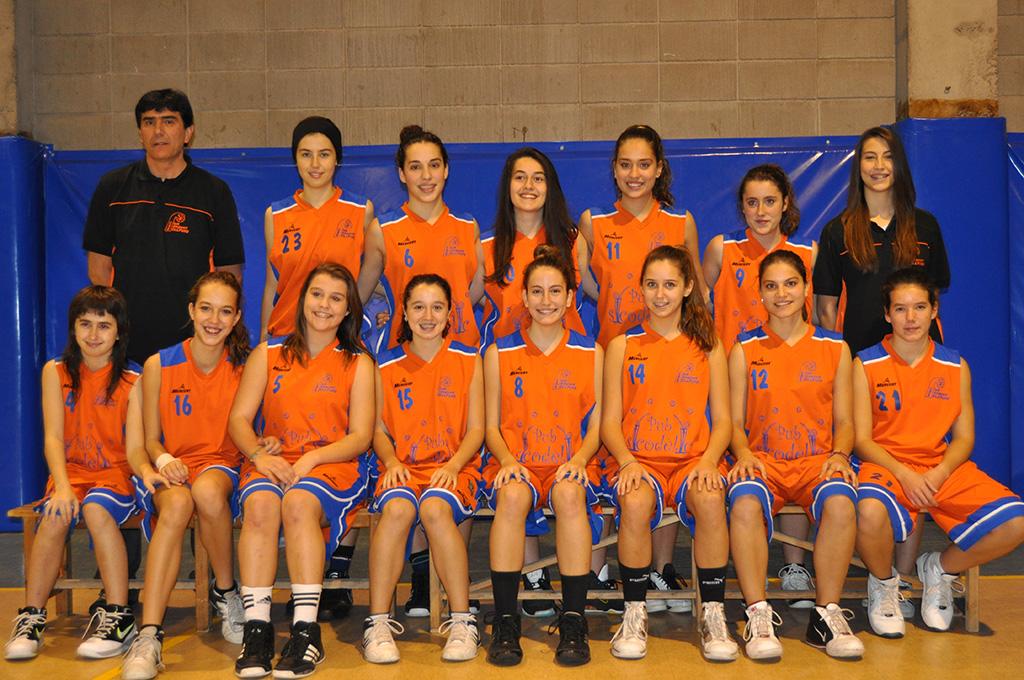 11- equip cadet femení CBB 1997 i 1998