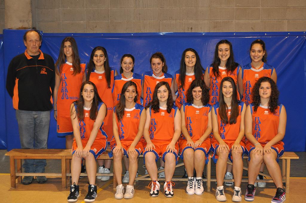 12- equip Júnior femení CBB 1995 i 1996