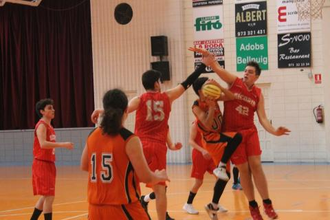 Club Bàsquet Bellpuig_17-18_03_10 Júnior Masculí