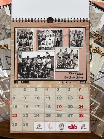 Club Bàsquet Bellpuig_18-19 Calendari històric