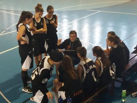 Club Bàsquet Bellpuig_18-19_01_12 Cadet femení