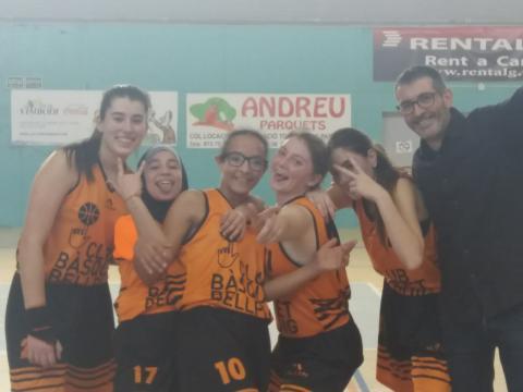 Club Bàsquet Bellpuig_18-19_02_09 Cadet femení