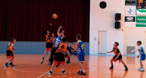 Club Bàsquet Bellpuig_18-19_02_16 Mini masculí taronja
