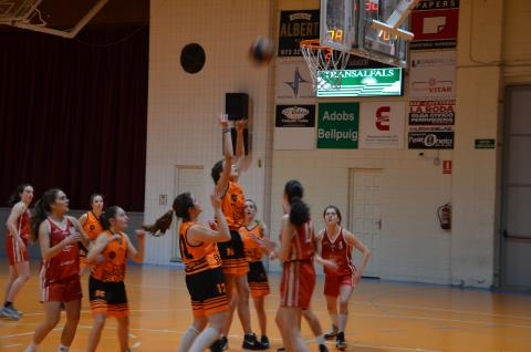 Club Bàsquet Bellpuig_18-19_02_23 Júnior femení