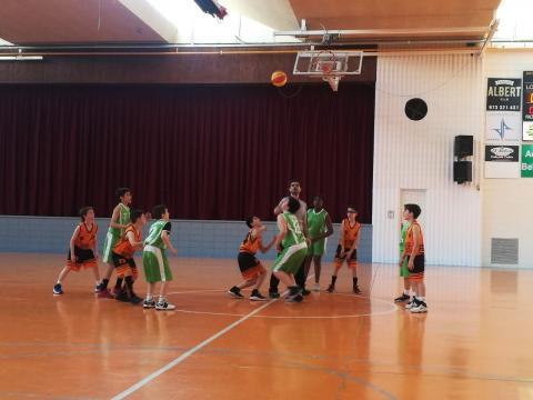Club Bàsquet Bellpuig_18-19_03_23 Mini masculí taronja