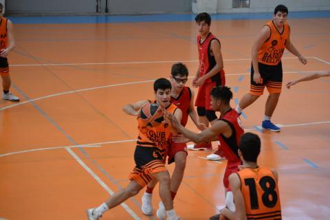 Club Bàsquet Bellpuig_18-19_12_01 Júnior masculí