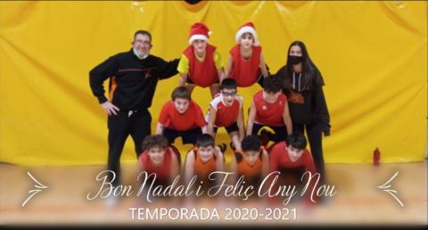 Club Bàsquet Bellpuig_20-21_12_20 Felicitació Nadal