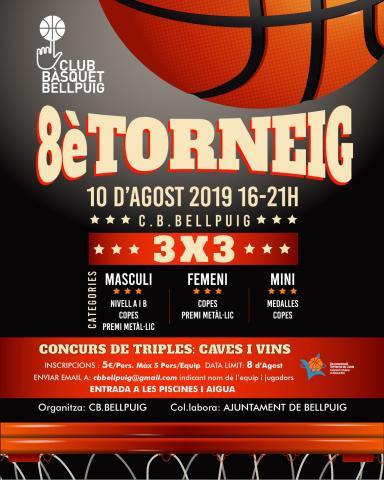 Club Bàsquet Bellpuig_18-19_Torneig 3x3
